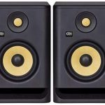"KRK RP5 Rokit 5 G4 Professional Bi-Amp 5"" Powered Studio Monitor Pair, Black"