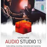 SOUND FORGE Audio Studio — Version 13— audio editing, recording, restoration and mastering in one. [PC Download]
