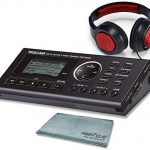 Tascam GB-10 - USB Guitar/Bass Trainer/Recorder Along with Samson Studio Headphones and SDHC Memory Card