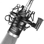 Neewer NW-700 Professional Studio Broadcasting & Recording Condenser Microphone (1)NW-700 Condenser Microphone (1)Metal Microphone Shock Mount (1)Ball-type Anti-wind Foam Cap (1)Microphone Audio Cable