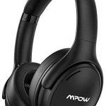 Mpow H19 IPO Active Noise Cancelling Headphones, Bluetooth 5.0 Headphones with CVC8.0 Mic, Fast Charge, 35H Playtime, Deep Bass Wireless/Wired Headset for Kids, Adults, TV, Online Class, Home Office